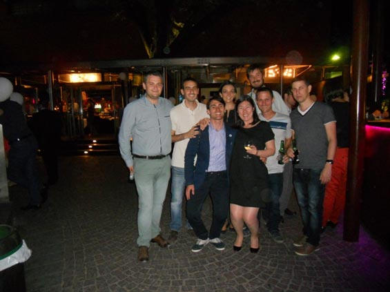 EAACI and WAO Junior Members during Junior Social Event