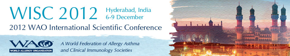 WAO International Scientific Conference: WISC 2012 - Hyderbad, India - December 6-9, 2012